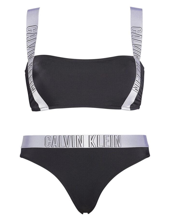 Svartvit bikini för dam till vintern 2019/2020