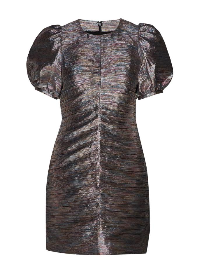 Festklänning med puffärm för dam till 2019
