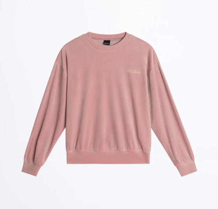 Gina tricot mini – rosa sammetströja