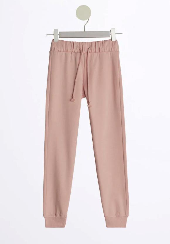 Gina tricot mini – rosa sweatpants för barn