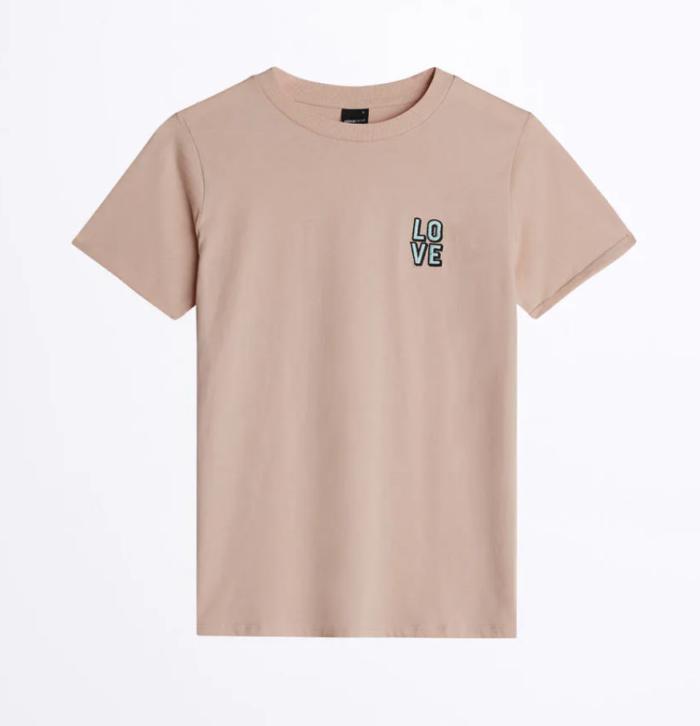 Gina tricot mini – rosa t-shirt