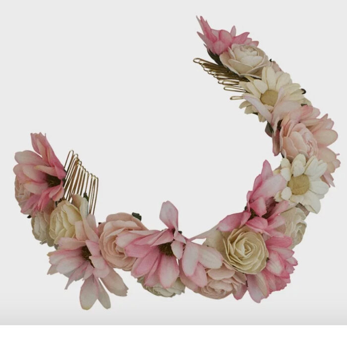 Blomsterkrans från Lily and rose