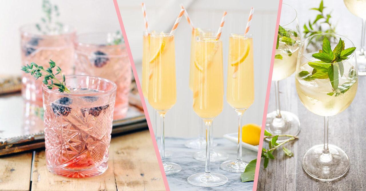 Recept 6 drinkar med cava eller prosecco