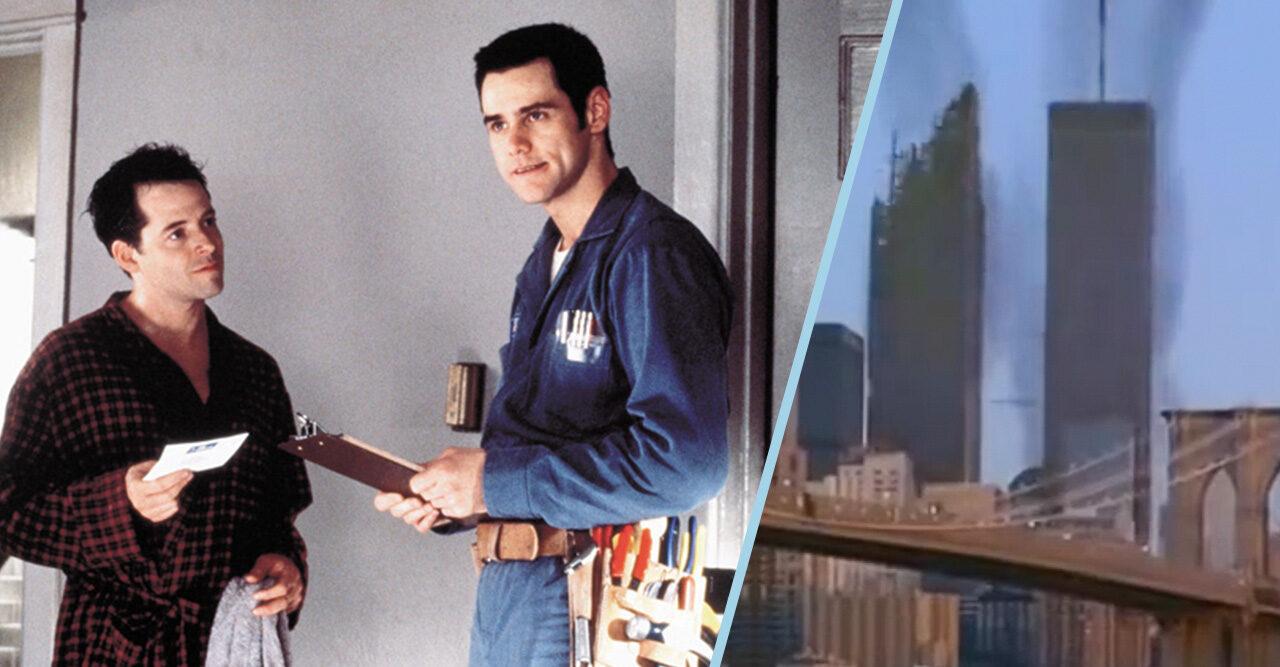 "Jim Carrey och ""Twin Towers"""