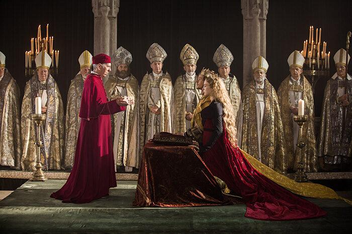 En bild från tv-seriern The White Princess på HBO.