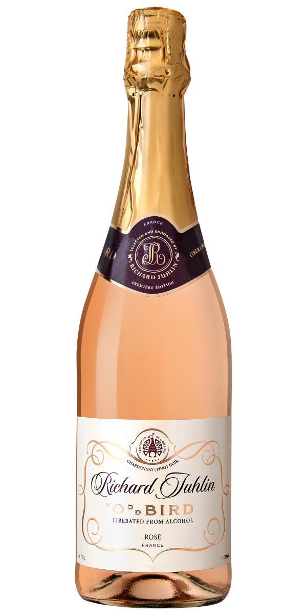alkoholfritt bubbel rosé