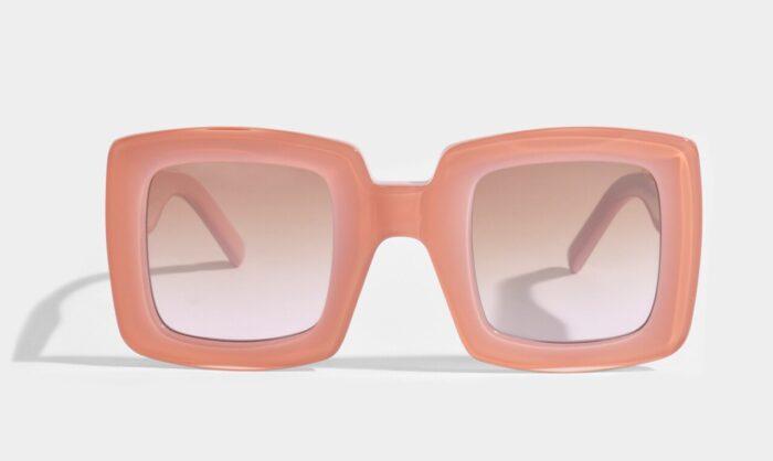 Rosa solglasögon från Marni på rea