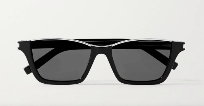 Svarta solglasögon från Saint Laurent på rea