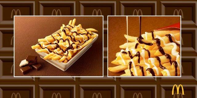 mcdonalds pommes frites