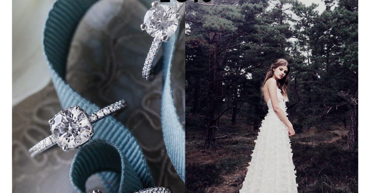 Kenza skänker bort brudklänning från Ida Sjöstedt