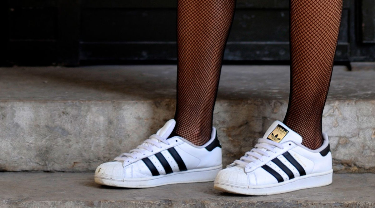 rengöring vita sneakers
