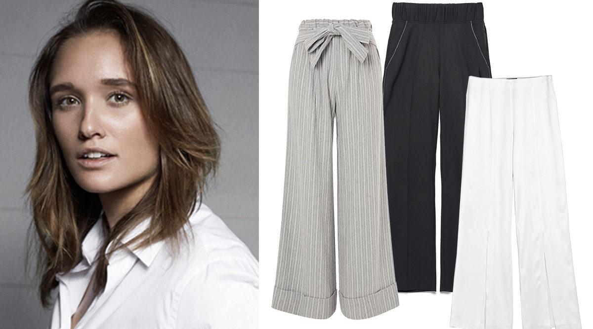 Modechefen listar: Luftiga byxor med hög stil och
