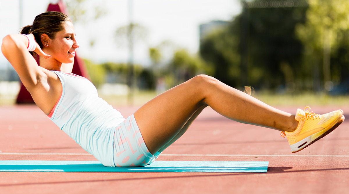 träna bort nedre delen av magen