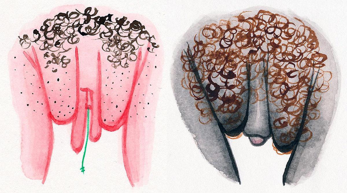 Hon tecknar vulvor – för att uppmuntra kvinnor att tycka om sin snippa