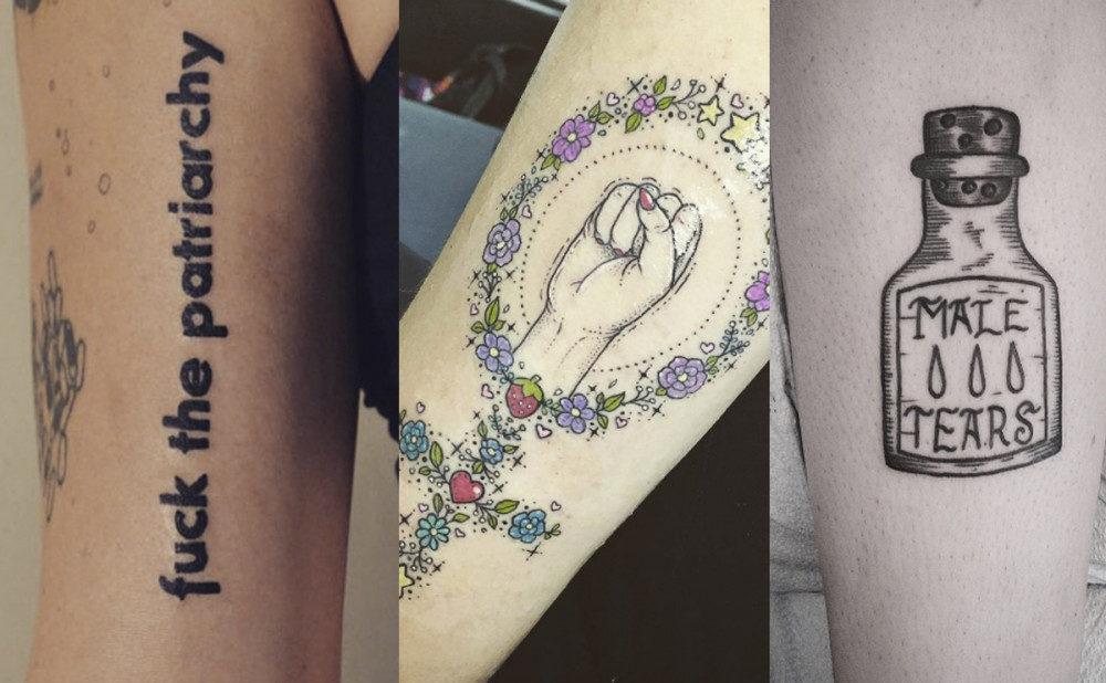 Inspiration: 9 feministiska tatueringar du kommer älska