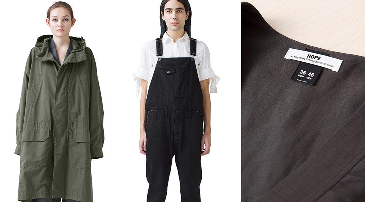 9baa6bd8d27 Här får alla kläder herr- och damstorlekar – vill utmana könsnormer. MODE