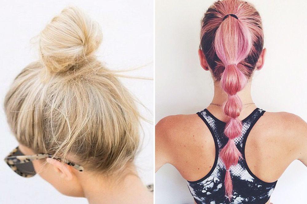 Inspiration: Fem frisyrer du kan ha när du tränar