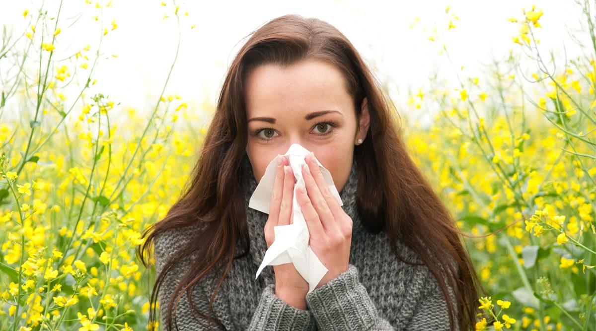 pollenallergi eller förkylning
