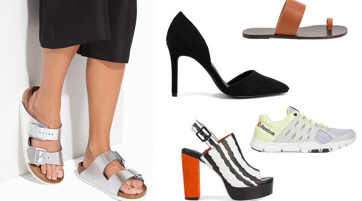 21 trendiga skor för sommarens alla tillfällen