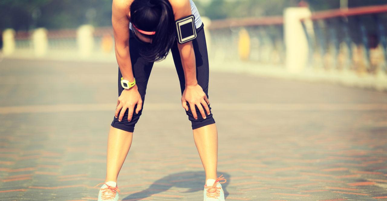 trött dagen efter träning