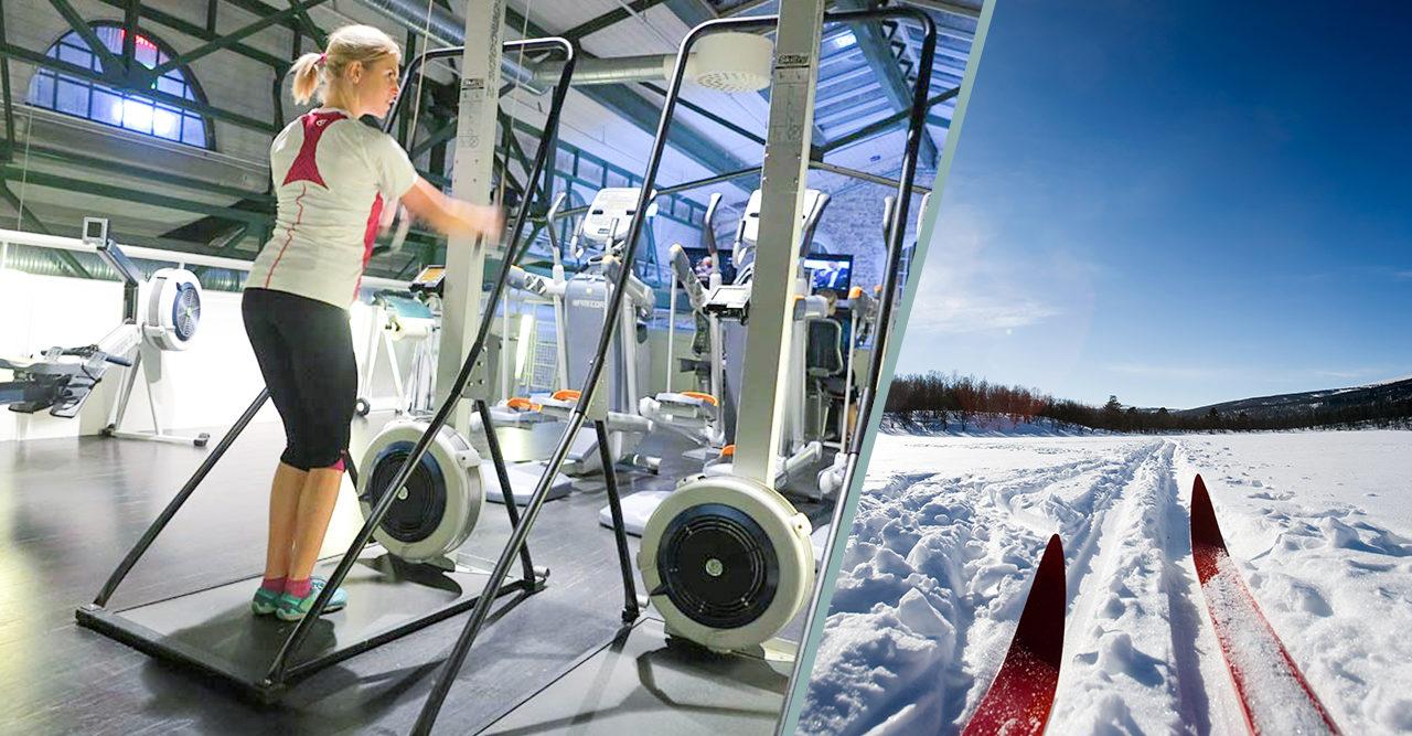 Så blir du en grym skidåkare – utan snö
