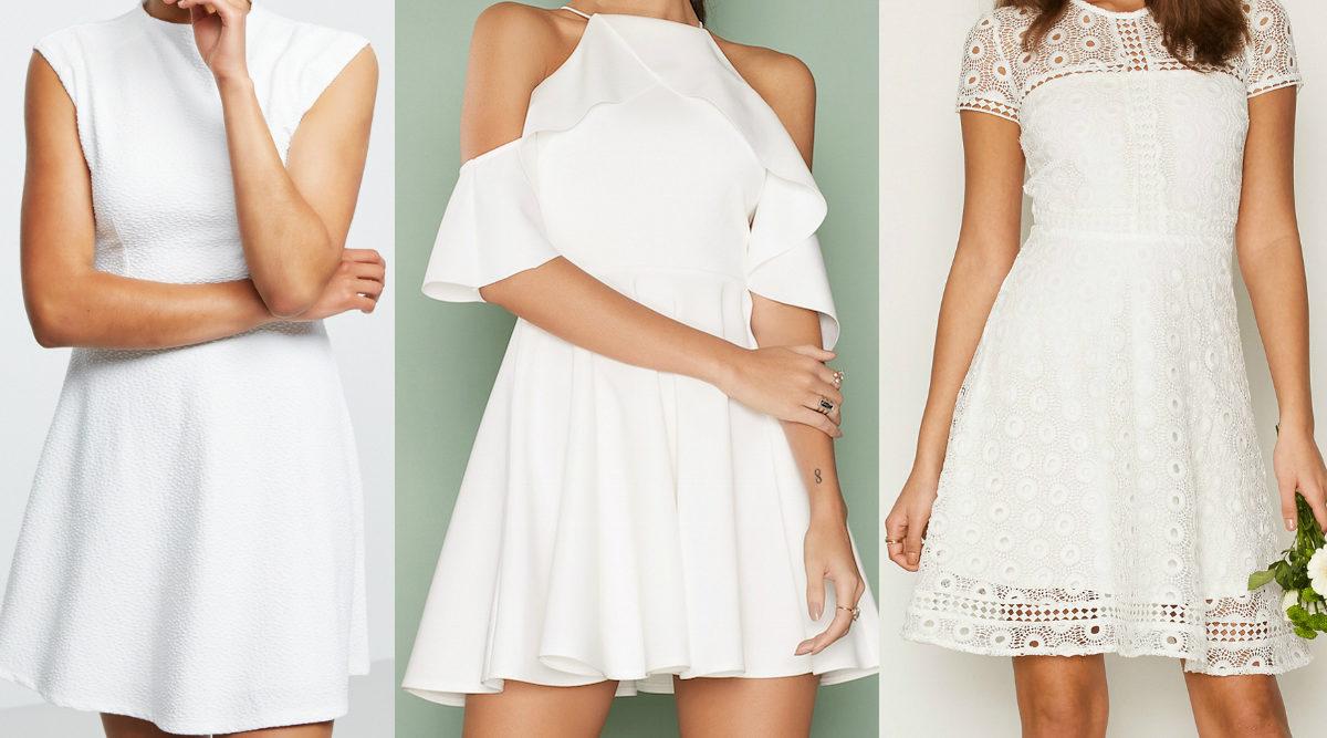 25 snygga vita klänningar – till sommaren och studenten 1cd7c61346594