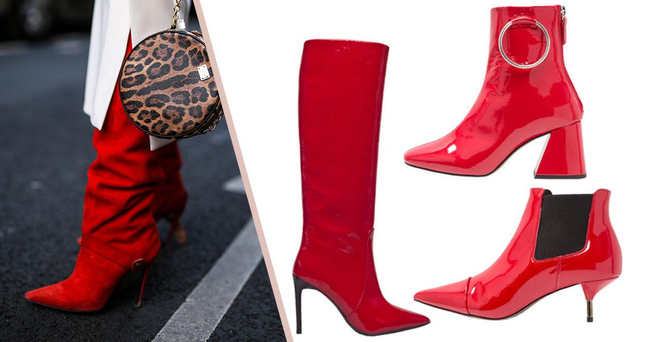 Säsongens snyggaste skor i höstens trendfärg rött | Baaam