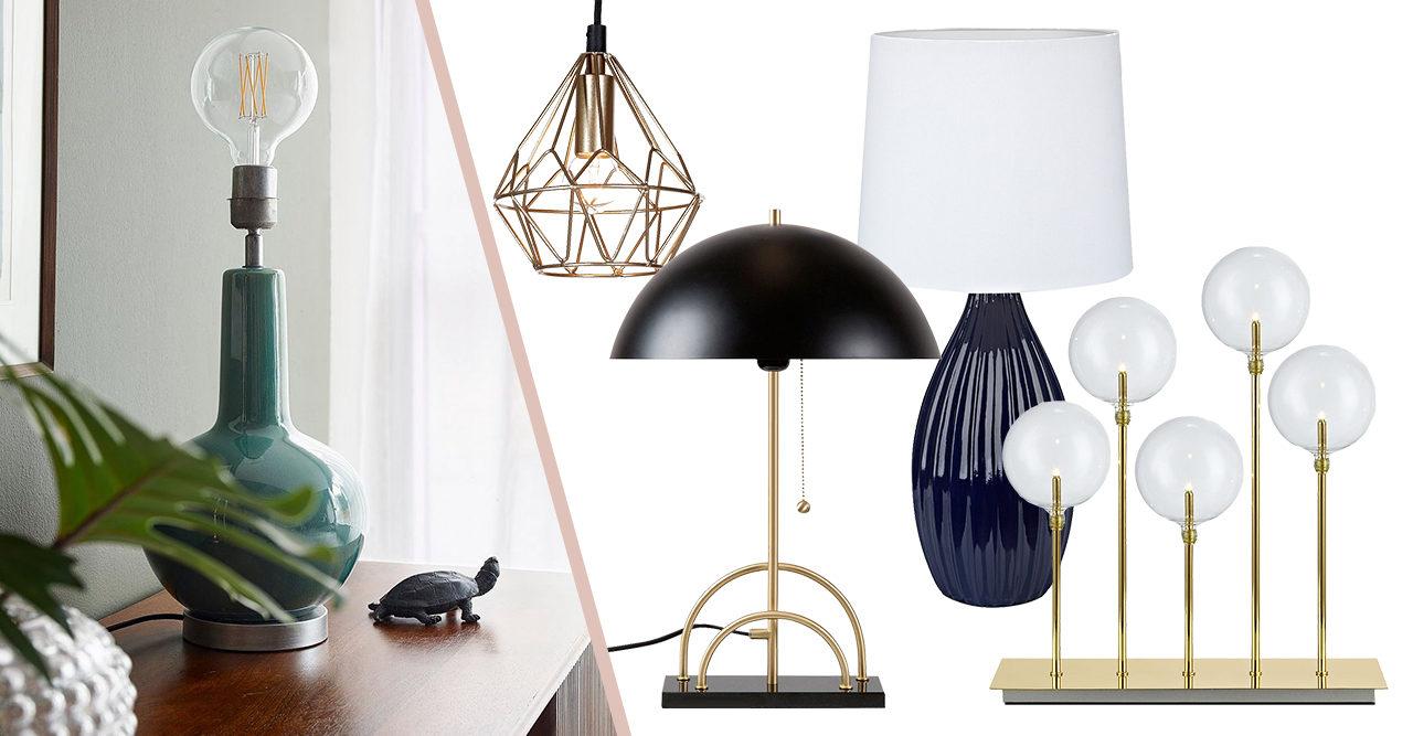 Lys upp i mörkret! 17 trendiga lampor som uppgraderar ditt hem