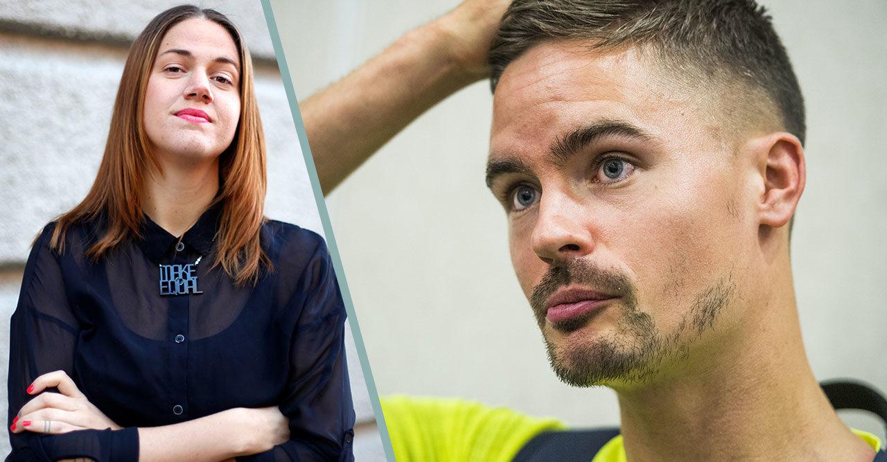 """Ida Östensson om Mikael Lustigs utspel: """"Det måste vara slut på skitsnacket"""""""
