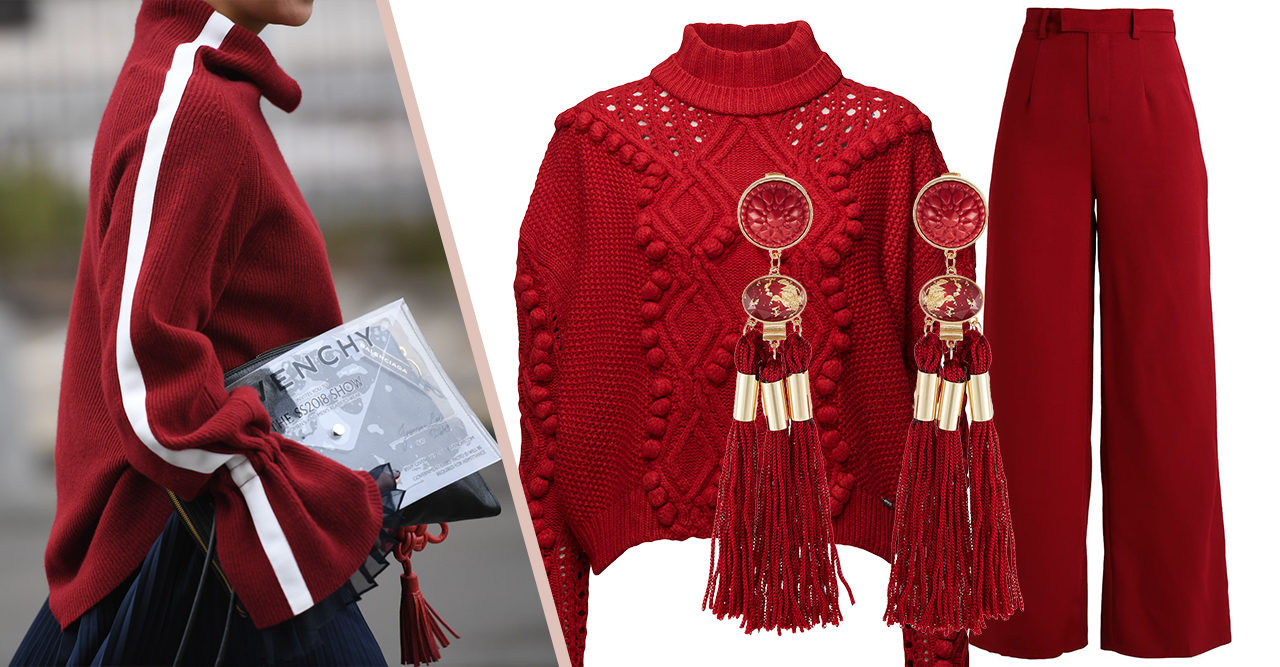 13 röda trendköp till jul (som du kommer bära även nästa år)