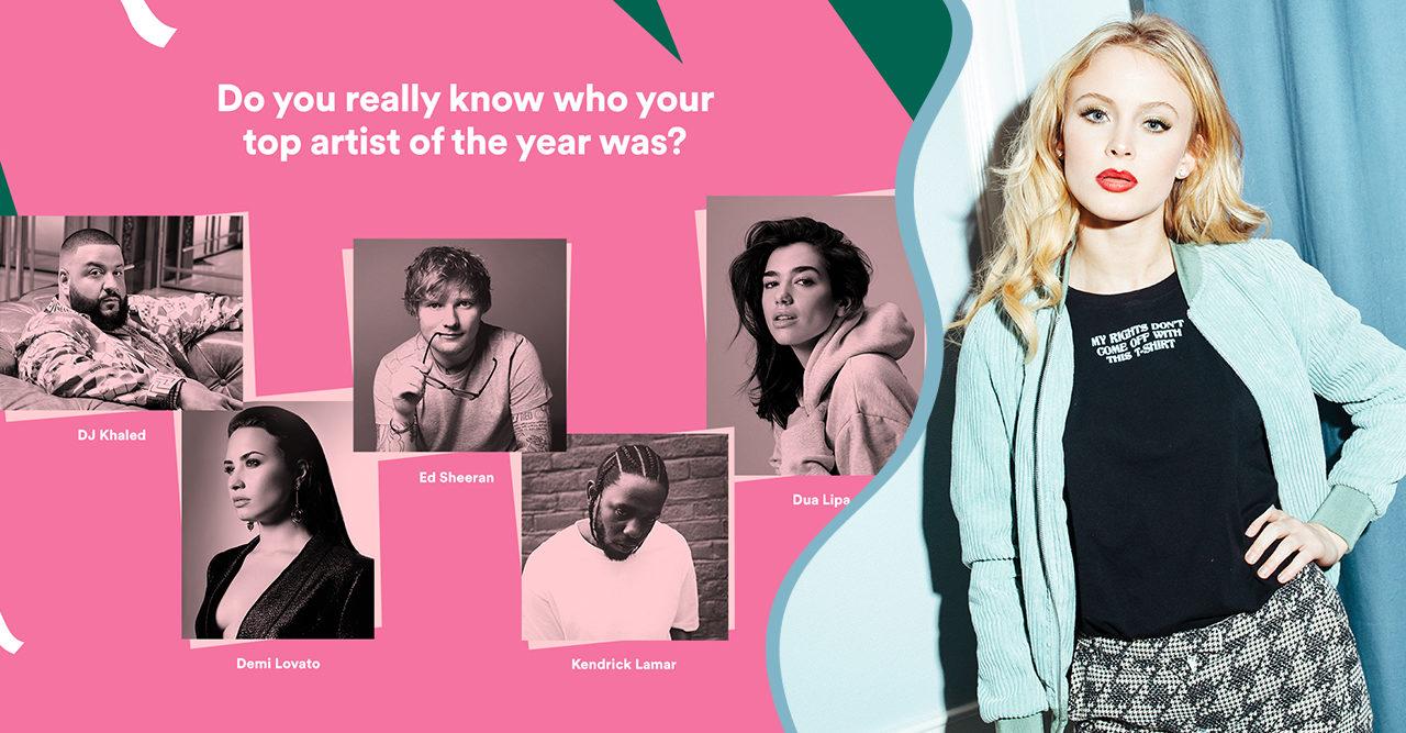 Nu kan du se vilka låtar du har lyssnat mest på i år