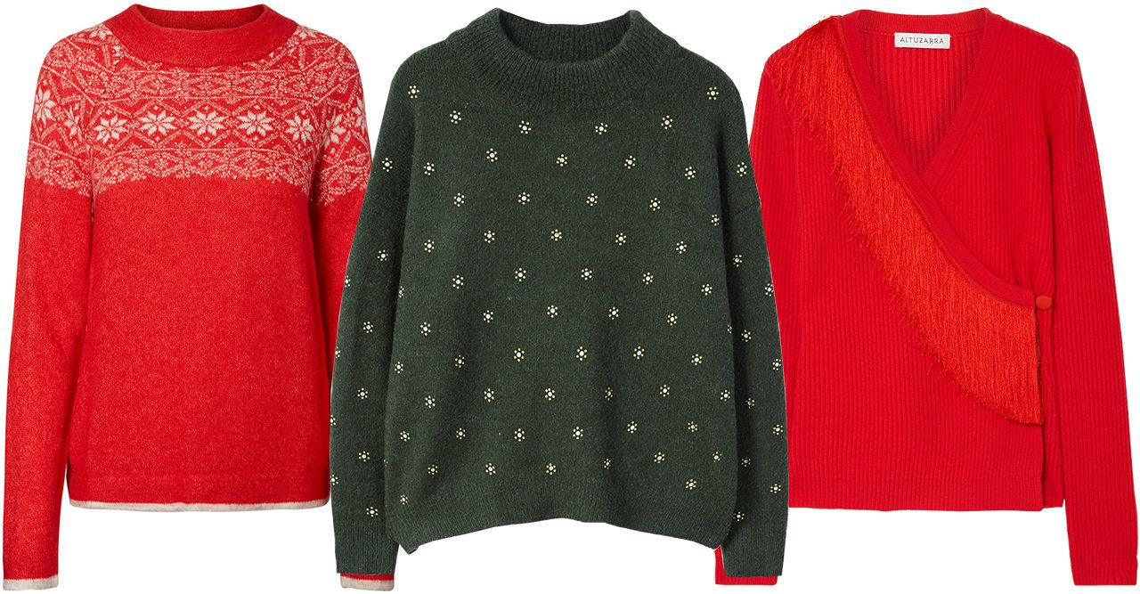 16 stilsäkra tröjor som sätter stämningen på julafton