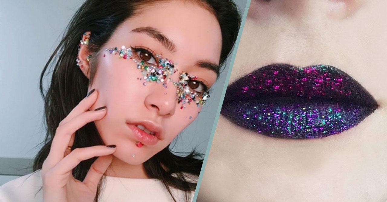 9568c0bad Nyårssmink extra allt – 14 looks med glitter och guld | Baaam