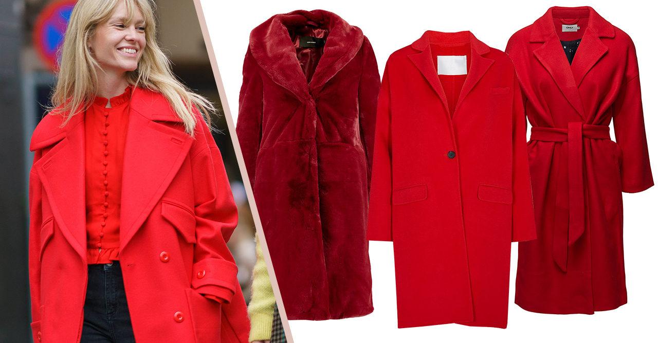 Plötsligt sug efter en röd kappa? Vi ger dig de bästa i butik