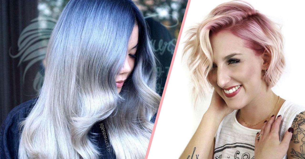 15 bilder som bevisar att färgglad utväxt är nästa hårtrend