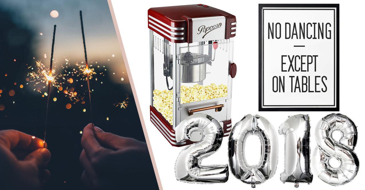 Detaljerna som tar din nyårsfest till nästa nivå