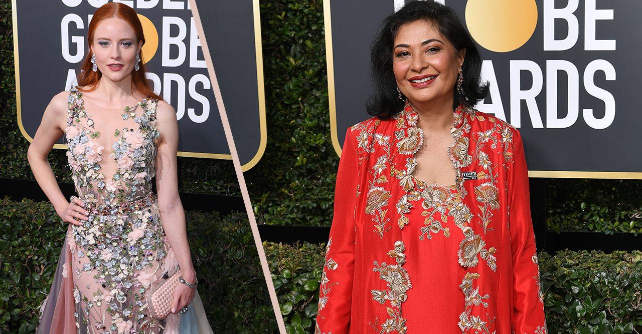 De tre kvinnorna som inte bar svart på Golden Globe – och varför