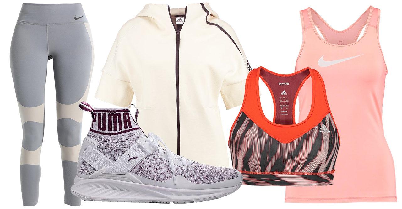 Trendiga träningskläder på rea – 20 bra kap