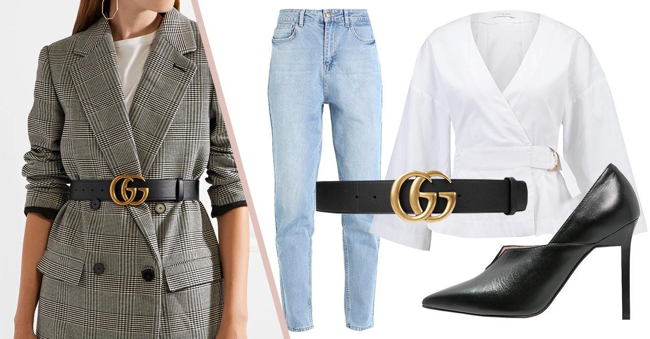 Här köper du Guccis trendiga skärp – och så stylar du det