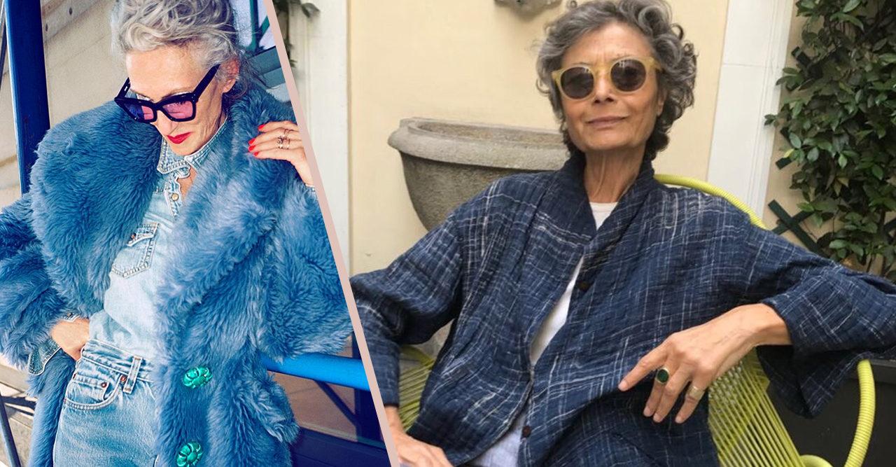 6994211907ee Följer du för få stilsäkra äldre kvinnor på Instagram? Här är våra 10  favoriter. MODE