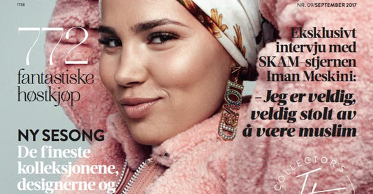 Forsta modellen med hijab pa vogue