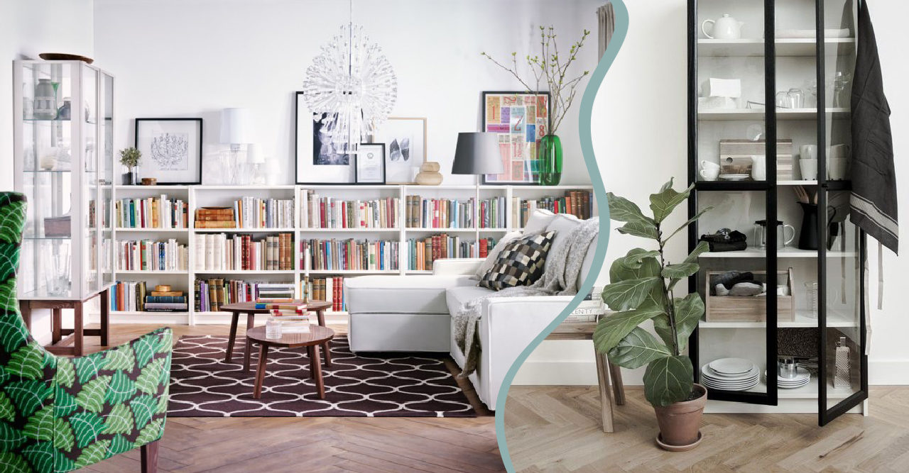 Toppen Så stajlar du Ikeas klassiska bokhylla Billy på 9 trendiga sätt OM-21