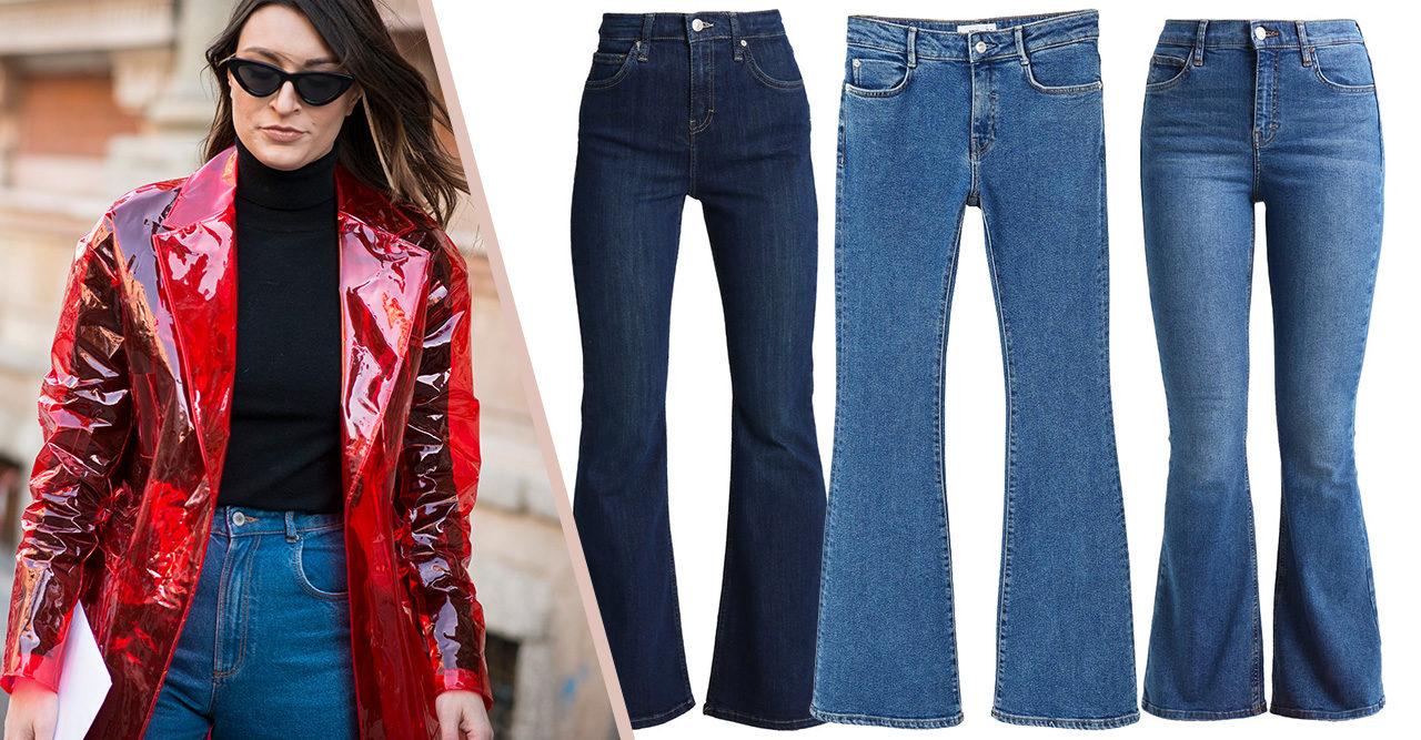 10 bootcut-jeans som är för snygga att motstå