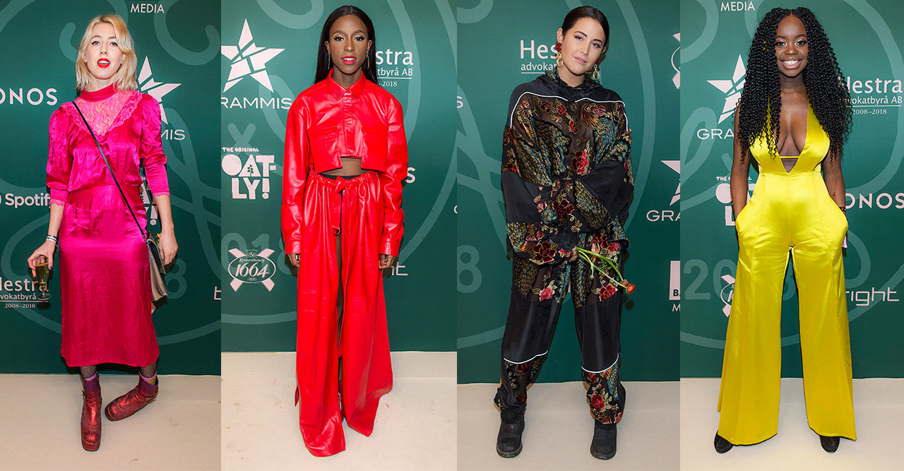 De klädde sig bäst på Grammisgalans färgstarka röda matta