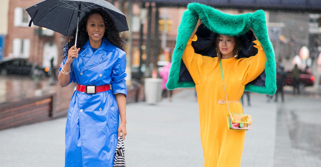 De absolut snyggaste street style-looksen från New York Fashion Week