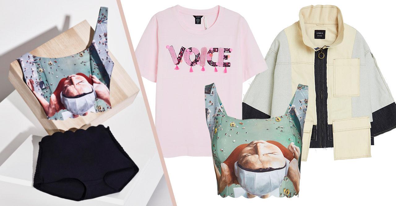 Mode möter konst! Lindex hyllar kvinnor med ny kollektion
