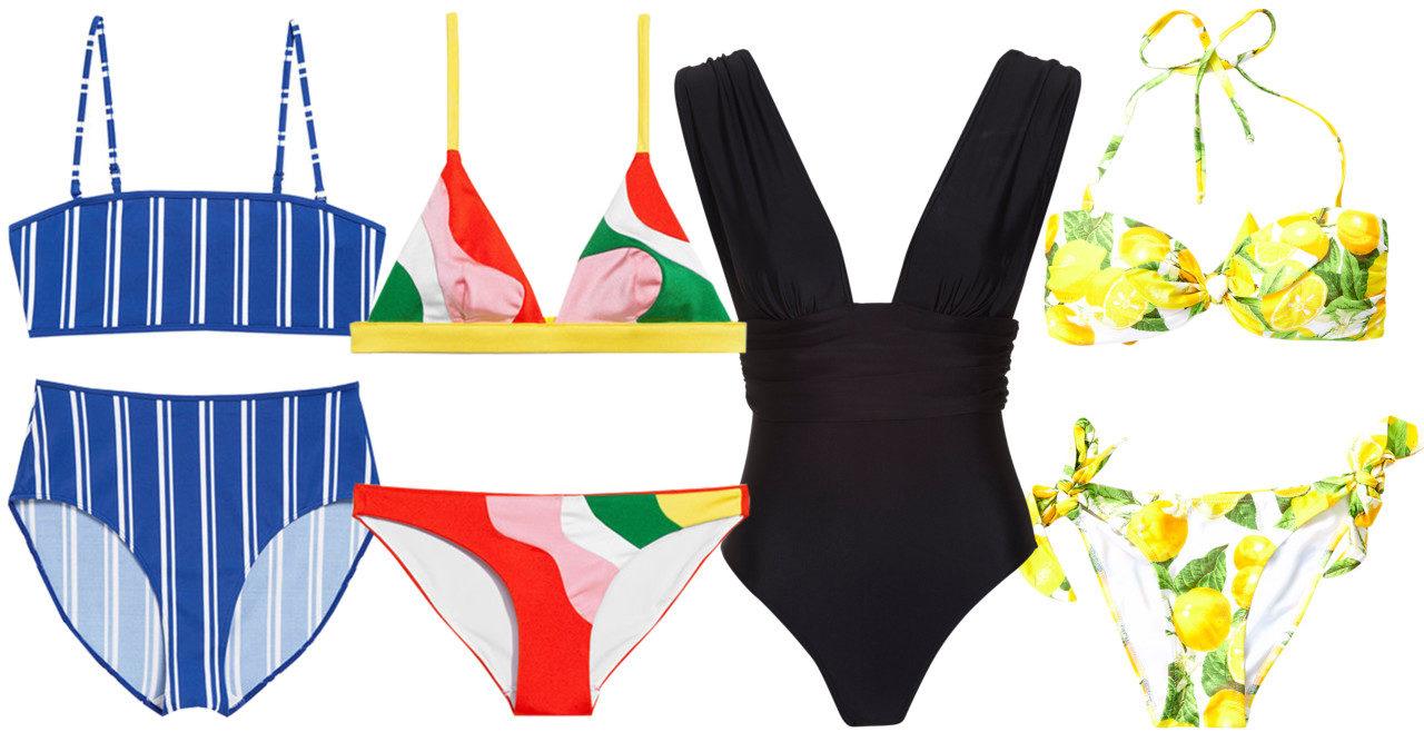 Solsemester? 30 snygga bikinis och baddräkter att packa med