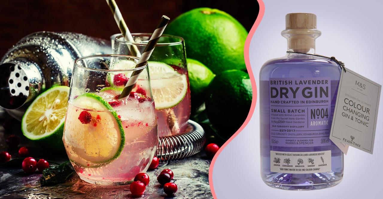Nu finns gin som byter färg när du blandar den med tonic