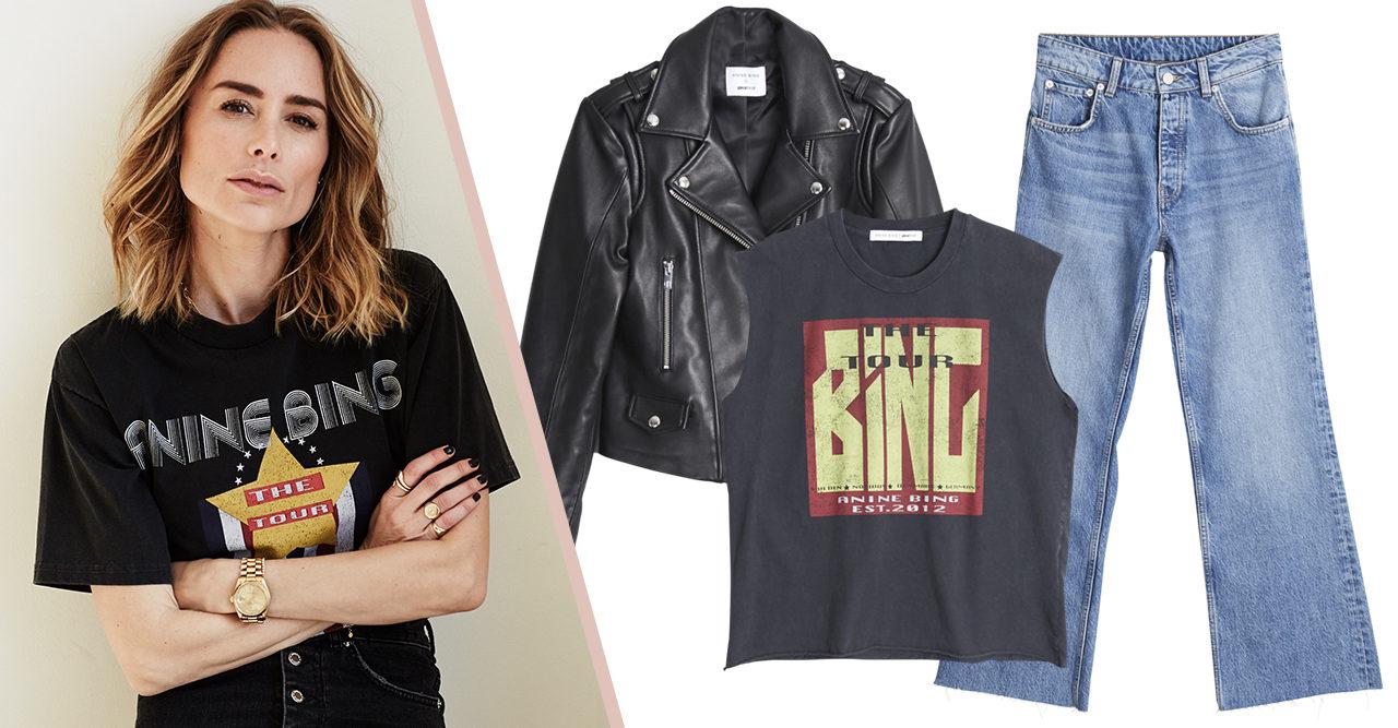 Basplagg och rockchict – Anine Bing släpper kollektion för Gina tricot