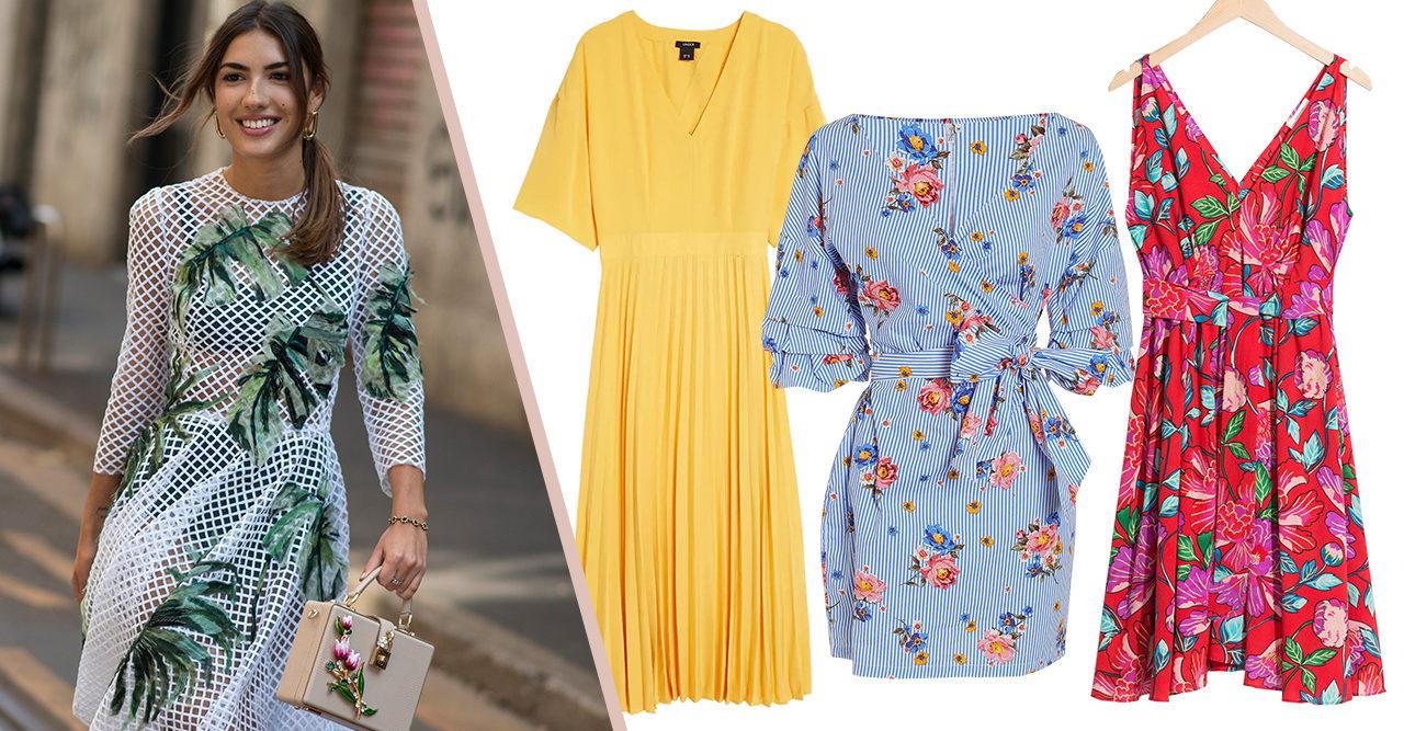f1bbb3d03e73 Artikeln innehåller reklamlänkar – läs mer här. Sommarfest! 15 fina  klänningar under 700 kronor
